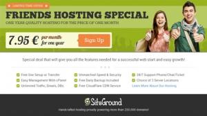 Veebimajutus - Siteground.com