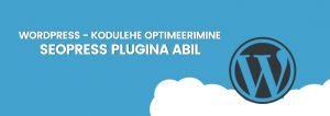 Kodulehe optimeerimine: SEOpress plugina kasutamine (video)
